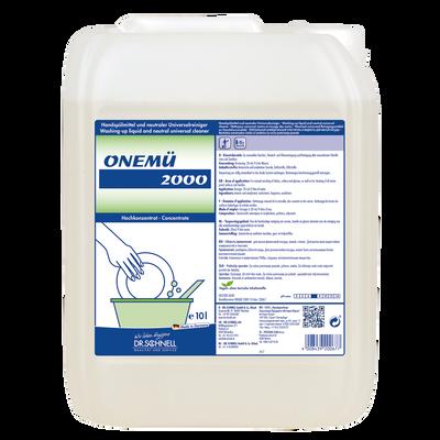 DR. SCHNELL ONEMU - sredstvo za ročno pomivanje posode 10 l