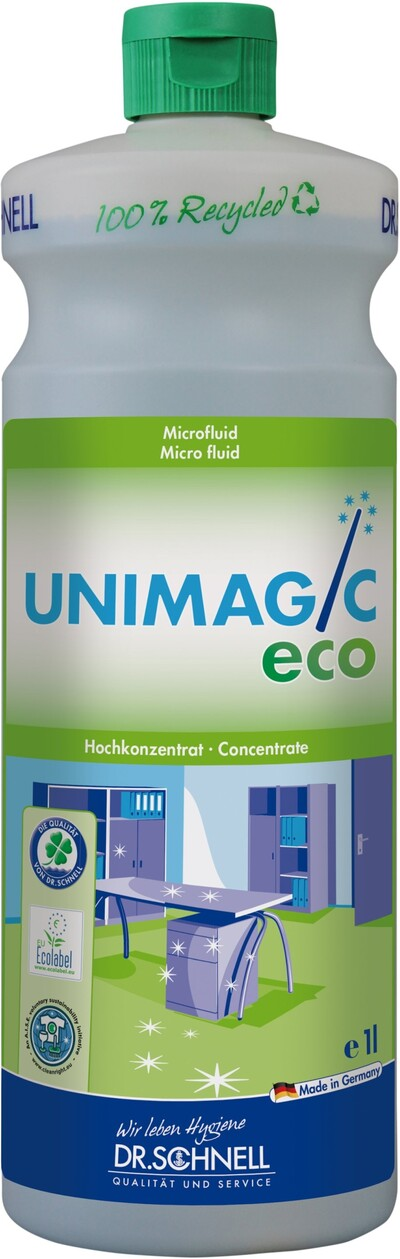 DR. SCHNELL UNIMAGIC ECO - ekološko univerzalno čistilo z mikro tehnologijo 1 l