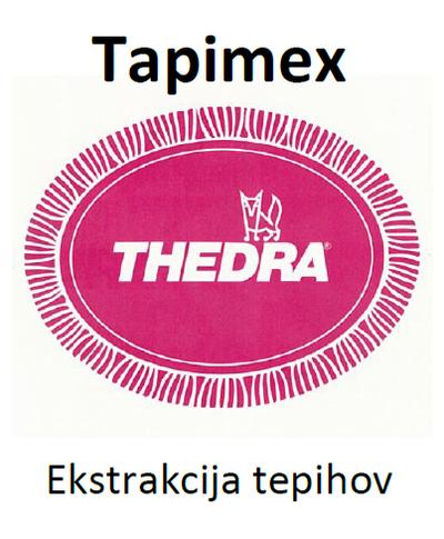 THEDRA TAPIMEX - ekstrakcijsko čistilo za oblazinjeno pohištvo 1 l