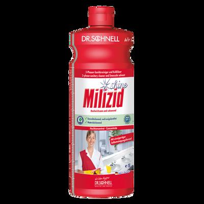 DR. SCHNELL MILIZID SHINE - sanitarno čistilo s kapljičnim efektom 1 l