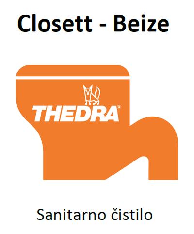 THEDRA CLOSETT-BEIZE - odstranjevalec vodnega kamna za WC školjke in pisoarje 1 l