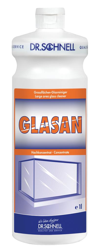 DR. SCHNELL GLASAN - sredstvo za generalno čiščenje stekla, ok. okvirjev, žaluzij 1 l