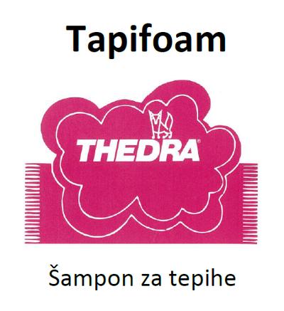 THEDRA TAPIFOAM - šampon za oblazinjeno pohištvo 1 l