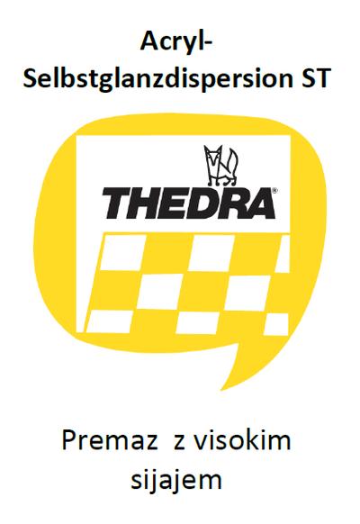 THEDRA ACRYL-SELBSTGLANZDISPERSION ST - premaz z visokim sijajem za umetne mase 1 l