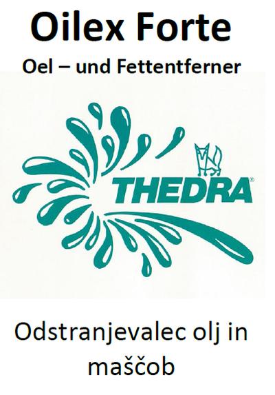 THEDRA OILEX FORTE - odstranjevalec olj in maščob 10 l