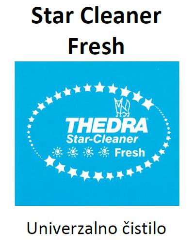 THEDRA STAR CLEANER FRESH - univerzalno čistilo z vonjem 1 l
