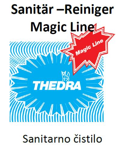 THEDRA SANITAR-REINIGER MAGIC LINE - sanitarno čistilo 10 l