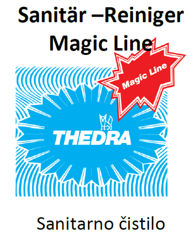 THEDRA SANITAR-REINIGER MAGIC LINE - sanitarno čistilo 1 l