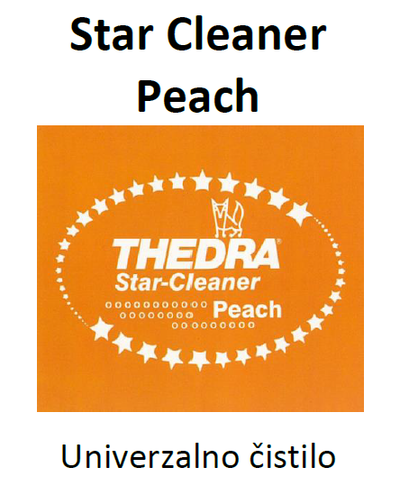 THEDRA STAR CLEANER PEACH - univerzalno čistilo z vonjem 10 l