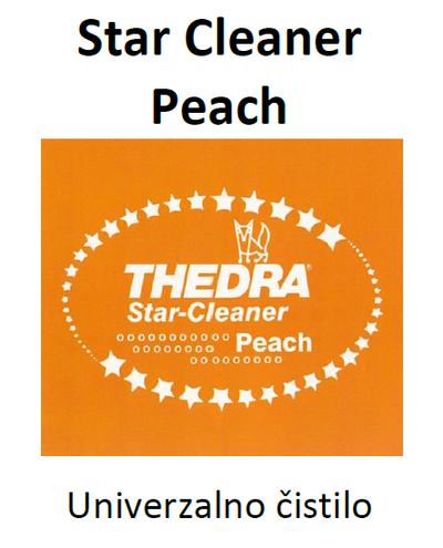 THEDRA STAR CLEANER PEACH - univerzalno čistilo z vonjem 1 l