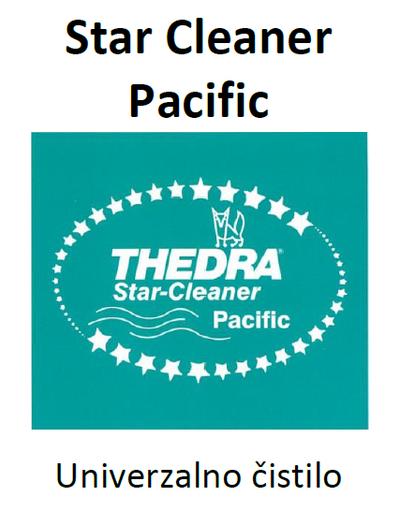 THEDRA STAR CLEANER PACIFIC - univerzalno čistilo z vonjem 1 l
