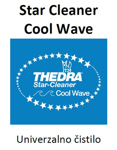 THEDRA STAR CLEANER COOL WAVE - univerzalno čistilo z vonjem 1 l